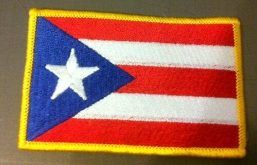 PUERTO RICO  FLAG PATCH FLG14