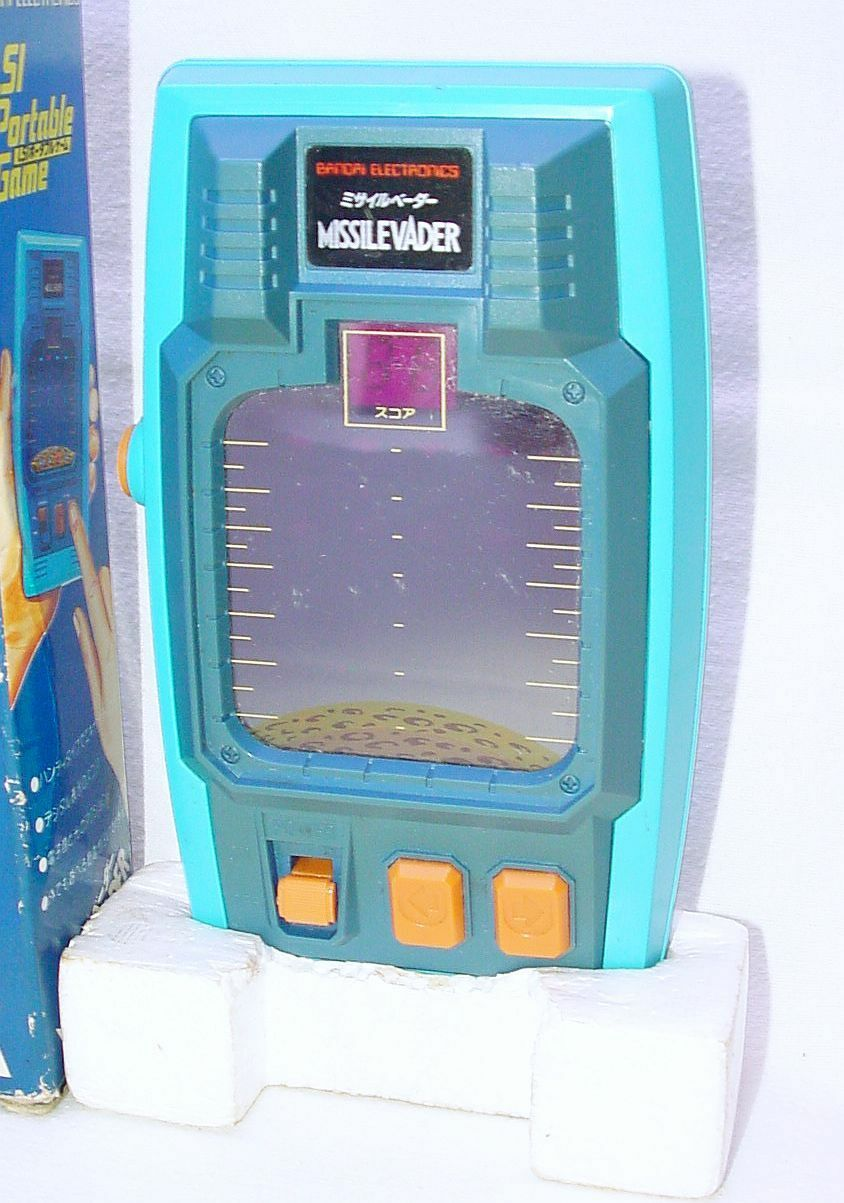 Bandai Japan MISSILEVADER Arcade Tabletop LSI Electronic SPACE Game Game Game NMIB`80 RARE aa14ce