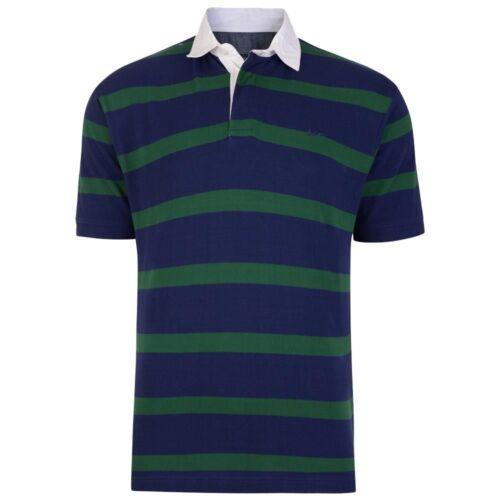 Mens KAM Big /& Tall King Rugby Stripe Polo Top Shirt  2XL 3XL 4XL 5XL 6XL 7 8XL