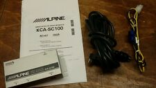 Sirius XM Alpine KCA-SC100 Radio SATELLITE KCASC100 FOR USE WITH SCC1 SC-C1