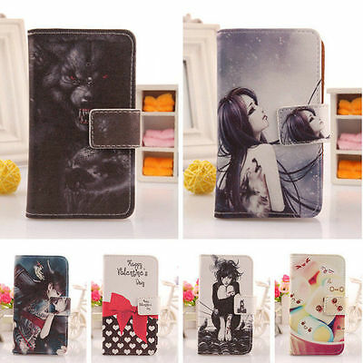 Accessory Cute PU Leather Case Skin Protector Cover For Lenovo Smartphone New