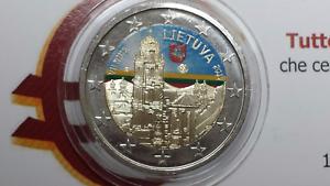 2-euro-2017-LITUANIA-color-farbe-farbig-Lituanie-Lithuania-Litauen-Lietuva