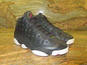 Og 9 True 13 Air 5 136002 061 Jordan Xiii Nero Red Nike Breds Sz 1998 Playoff KJ5Fulc13T
