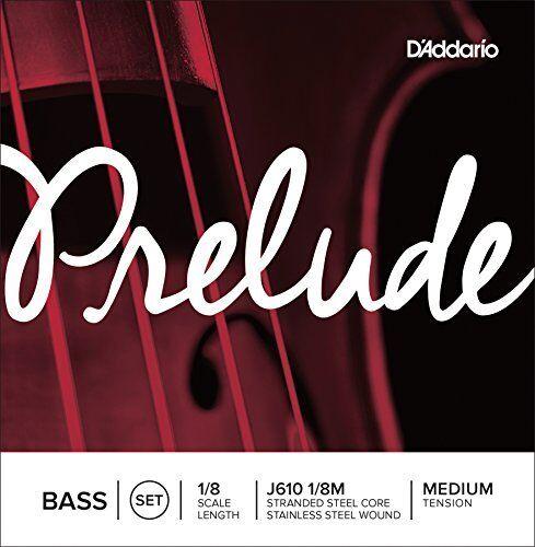 D 'Addario Prelude bajo cuerda Set, escala 1 8, 8, 8, media tensión f09927