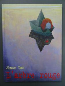 L-039-ARBRE-ROUGE-Shaun-Tan-Livre-enfant-Album-illustre-Gallimard-Comme-neuf