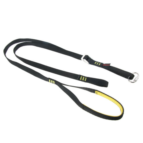 Adjustable Ascender Sling Foot Loop for Rock Climbing Mountaineering Gear