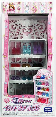 Takara Tomy Licca Doll Shoe Rack <doll not included> (822622)