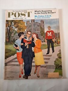 October 17 1959 The Saturday Evening Post Magazine  vintage advertisements f d r