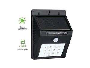Lampada-Fotovoltaico-Sensore-Luce-12-LEDSolare-Da-Esterno-Giardino-Faretto