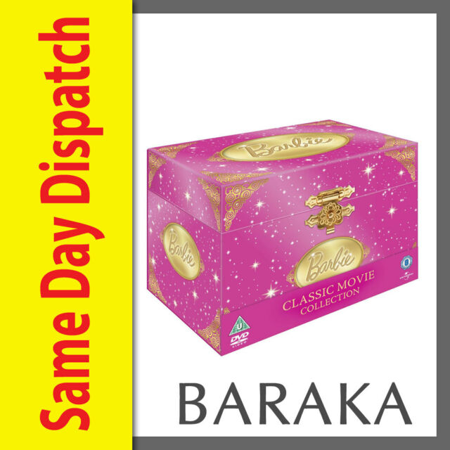 BARBIE Complete Classic Movie Collection DVD Box Set 19 Films