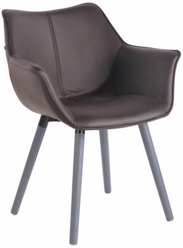 Esszimmerstuhl Zack V2 Kunstleder Besucherstuhl Stuhl Polsterstuhl Küchenstuhl