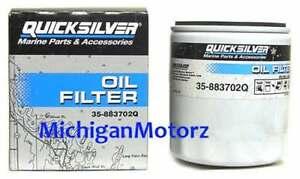 Genuine MerCruiser 4.3L, V-6 Oil Filter - 35-883702Q