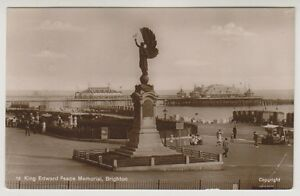 Sussex-Est-Cartolina-King-Edward-Pace-Commemorativo-Brighton-P-U-A117