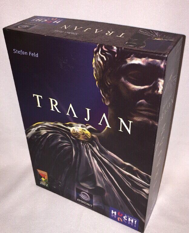 Trajan Board Game (Stefan Feld) Utilisé Mais En Excellent état Complet