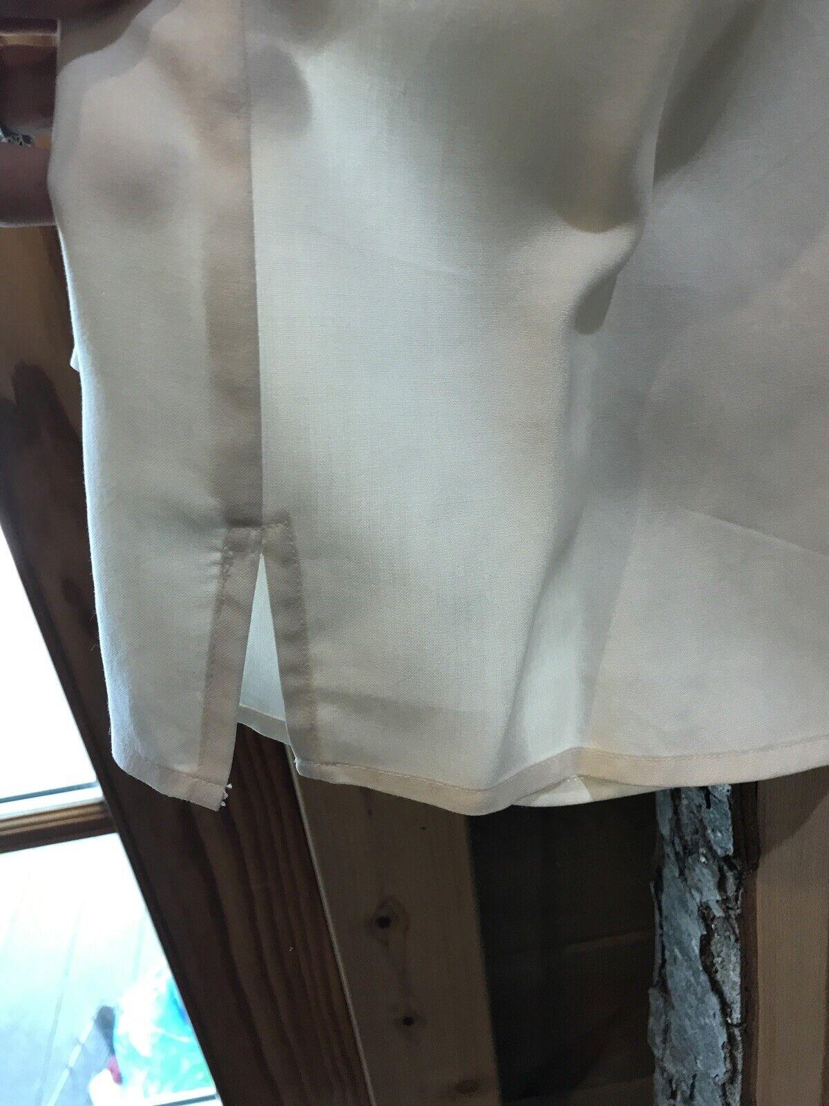 CE N'EST PAS UNCHAPEAU Women's Off White Blouse B… - image 8