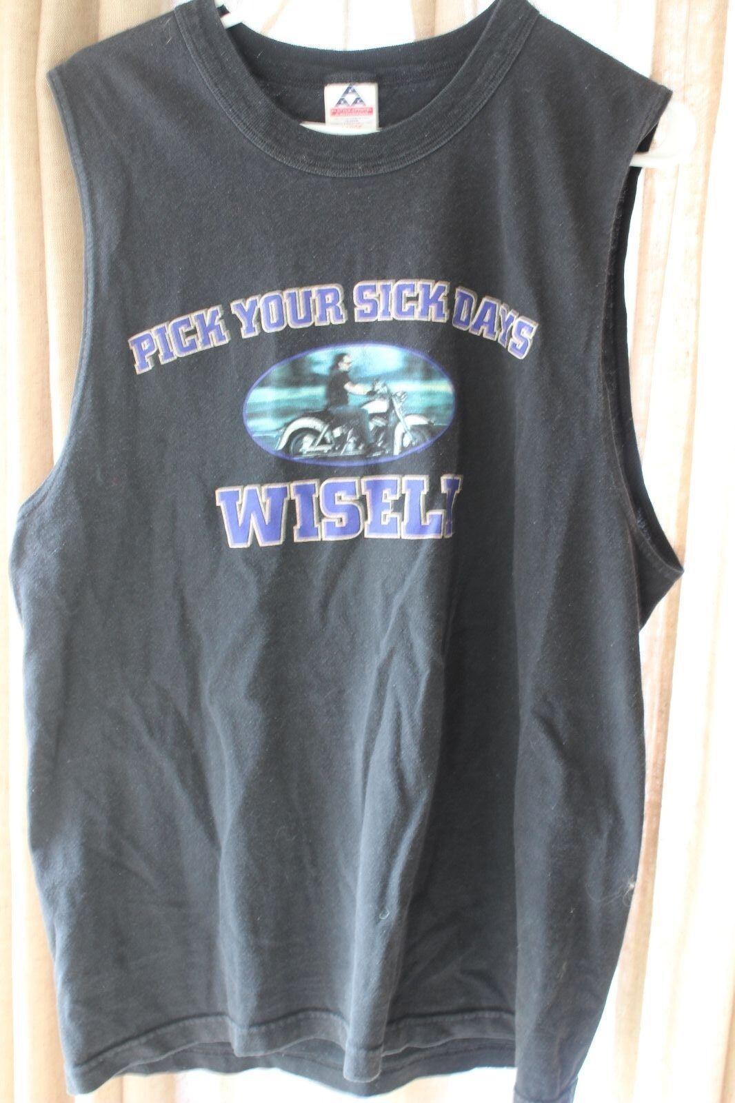 368e16d3062d 2001 Sturgis Motorcycle Shirt L Sleeveless Rally nawqbs4478-T-Shirts ...