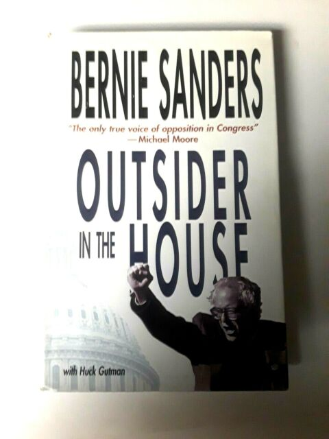 1997 HC Bernie Sanders-OUTSIDER IN THE HOUSE  Free Shipping Brand new (62RF)