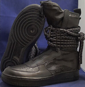 94827cbbcf0 Nike SF Air Force 1 Hi Black Dark Grey AF1 SZ 12 ( AA1128-002 )
