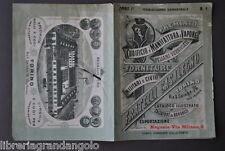 Cataloghi Industriali Pelle Calzature Civili Militari Casalegno Torino 1880