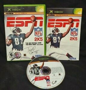 ESPN-NFL-2K5-Football-Microsoft-Xbox-OG-Rare-Game-Complete-Working