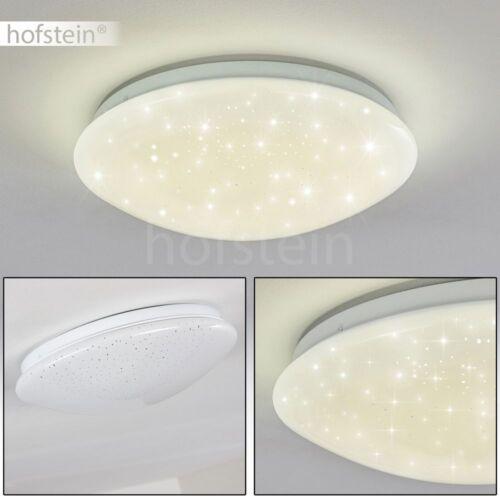 runde Bad Decken Leuchte LED Design Wohn Schlaf Zimmer Flur Lampe Sternenhimmel