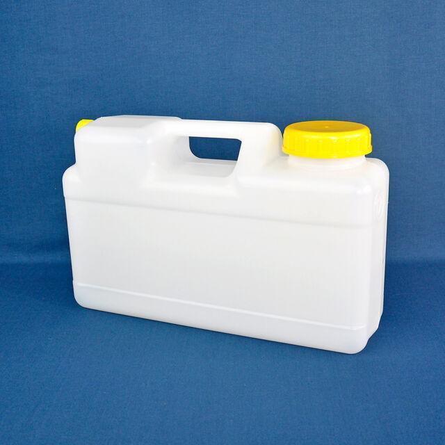 Raumsparkanister 12L inkl. Deckel und Ventilkappe Kanister Wasstank Abwassertank