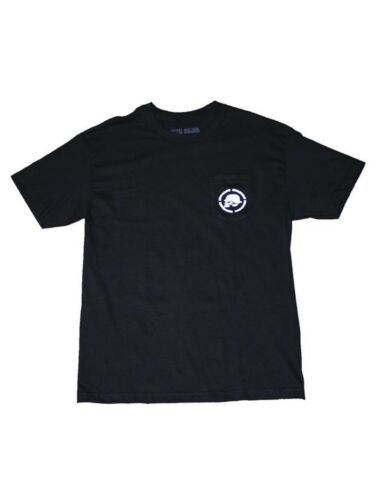 Metal Mulisha Men/'s Gasman Short Sleeve Pocket T-shirt with Motocross Skull Logo
