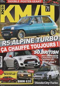 Kmh 71 R5 Alpine Turbo Bmw 635 Csi Honda City Turbo Mini Cooper S