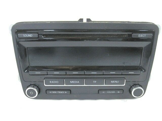 5M0035186J CAR RADIO WITH CD PLAYER VOLKSWAGEN POLO 1.4 GTI 132KW AUT B 3 P (