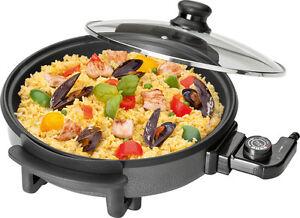 Clatronic-PP-3401-Sarten-electrica-para-pizza-tapa-diametro-32-cm-1500-W