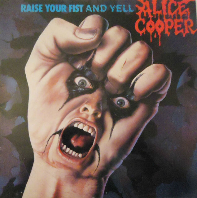 ALICE COOPER - Raise Your Fist ~ VINYL LP