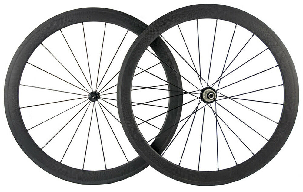 Full  Carbon Fiber Wheels 50mm 25mm U Shape R36 Shimano Campagnolo Hub Wheelset  online shop