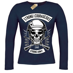 Army-Skull-strong-and-couragous-T-Shirt-ladies-long-sleeve