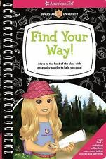 Find Your Way!: Move to the head of the class with geography puzzles to help you