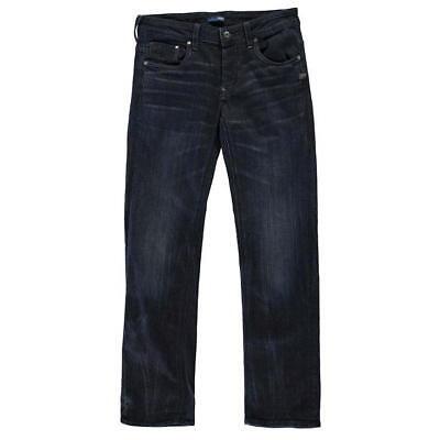Diskret Gstar Raw Attacc Low Straight Black Format Denim 3d Aged Mens Jeans29w 34l*ref55