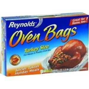 Image Is Loading Reynolds Turkey Size Oven Cooking Bags 2 Count