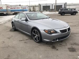 2004 BMW 645 CI (2 set of rims and tires)