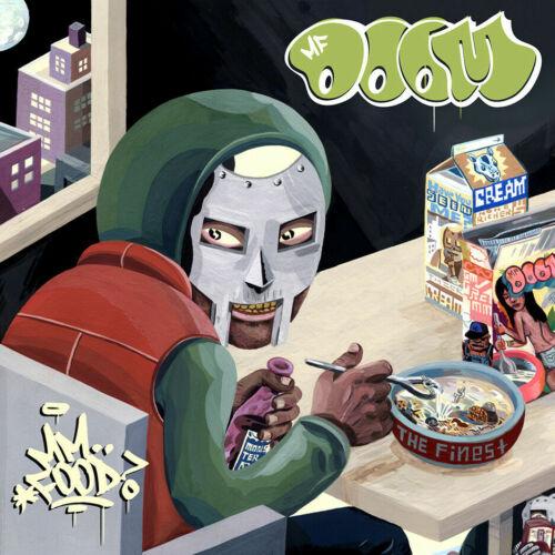 "MF Doom Mm Food Poster 12x12/"" 24x24/"" 32x32/"" Album Cover Art Print"