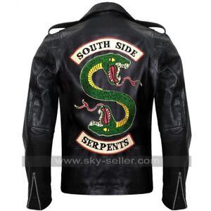 Riverdale En Southside Hommes Pour Cuir Jughead Veste Serpents w7wAqrIa