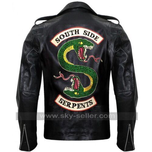 Riverdale Pour Jughead Southside Serpents Cuir Veste En Hommes TcwCTrvqW