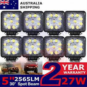 8x27Watt 12Volt  LED Track Lighting Work Light Lamp Tractor Automotive Headlight