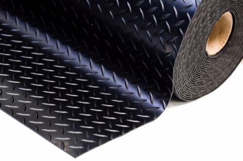 4 Mètre 400 cm Heavy Duty caoutchouc garage Flooring nattes 1.5 M Large x 3 mm épais