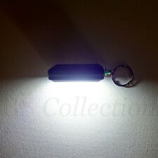 Kikkerland 1 x Assorted Mini Pull LED Light Bulb Torch Key Ring Chain Bag Gift