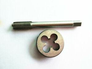 1pc HSS Machine 13//16-20 UN Plug Tap and 1pc 13//16-20 UN Die Threading Tool