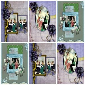 MATILDA ROSE Embellishments Card Making Toppers 12 Card Toppers