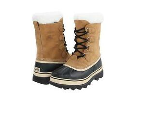 Authentic-Sorel-Men-039-s-Caribou-Snow-Winter-Waterproof-Boot-Buff-NM1000-281-NIB