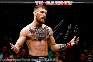 CONOR-McGREGOR-UFC-MMA-SIGNED-6x4-PHOTO-PRINT-AUTOGRAPH