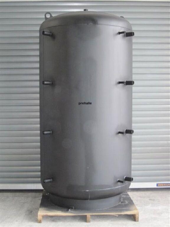 PRE Pufferspeicher 1500 L 2 WT für Solarthermie Holzvergaser Heizung BHKW Kamin