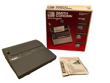 Smith Corona Wp135 Portable Electric Word Processor Typewriter With Orig Box