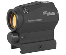 Sig Sauer SOR52102 Romeo5 XDR Compact Red Sight 2 MOA Dot with 65MOA Circle